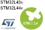 STM32L43x, STM32L44x – efficient low power microcontrollers in attractive price