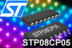 STP08CP05 STP08DP05 - LED driver, 8-channel, 5 to 100 mA